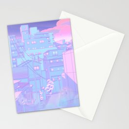 Moonlight City Stationery Cards