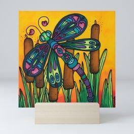 A Dragonfly Named Joy Mini Art Print