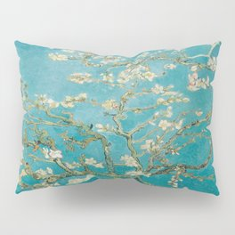 Vincent Van Gogh's Branches of an Almond Tree in Blossom Pillow Sham