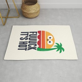 Heated Rhetoric Rug