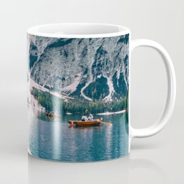 Canoe Mountains (Color) Coffee Mug