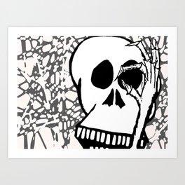 No See You Art Print