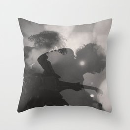 Rock and Roll Steady Throw Pillow