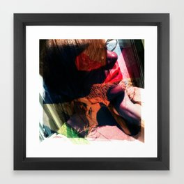 Leather and Lace before NooN Framed Art Print