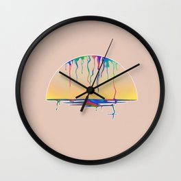 SATURATED SUNRISE Wall Clock