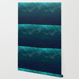 Fish Under The Storm Wallpaper