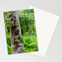 Plants on Trunk Stationery Cards