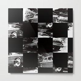 pattern car Metal Print