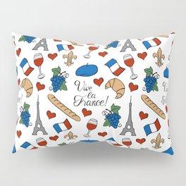 Vive la France! Pillow Sham