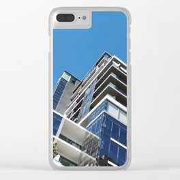 Modern Architectural Zig Zag in Cape Town, South Africa Clear iPhone Case
