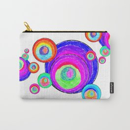 Colorful Secret Geometry | painting by Elisavet #society6 Carry-All Pouch