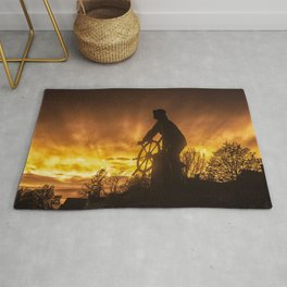 Fisherman's Memorial Sunset Rug