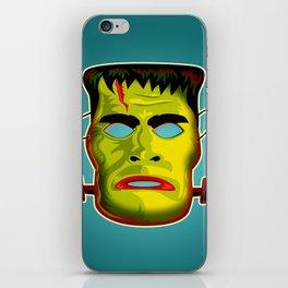 Frankenstein Monster Mask iPhone Skin