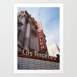 Los Angeles Theater Art Print