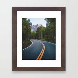 Road to the Bells Framed Art Print