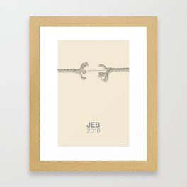 Jeb .3 Framed Art Print