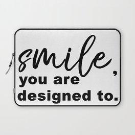 Designed to Smile Laptop Sleeve