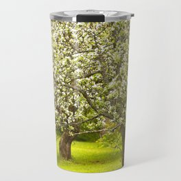 Flowering Apple Trees Travel Mug