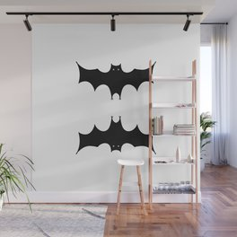 Double bat Wall Mural