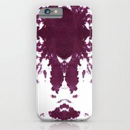 Velvet Kumo Shibori Plum iPhone Case