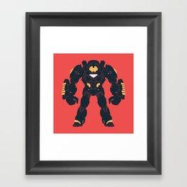 Hulkbuster Iron Man Framed Art Print