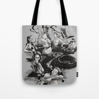 swim Tote Bags featuring SWIM by SPYKEEE