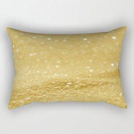 Glitter Gold Rectangular Pillow