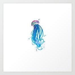 Cerulean Squishy Art Print