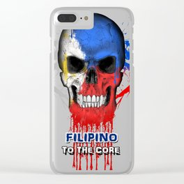 To The Core Collection: Philippines Clear iPhone Case