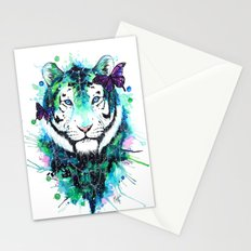 Galaxy tiger Stationery Cards