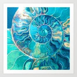 madagascar spiral serendipity Art Print
