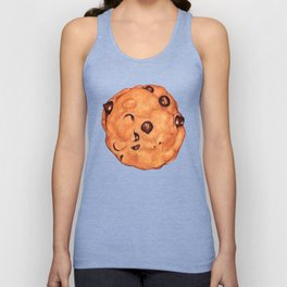 Cookies Pattern - Blue Unisex Tank Top
