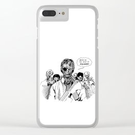 The Governor: Sentient Walker Clear iPhone Case