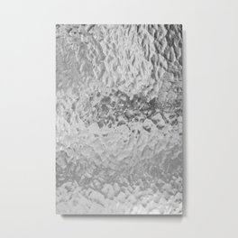Clear Water (Black and White) Metal Print
