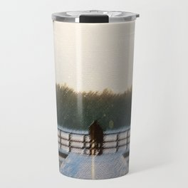 SLEEPING WITH GHOSTS Travel Mug