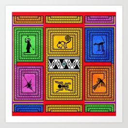 Nazca Art Print