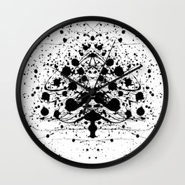 Special Christmastree Wall Clock