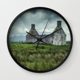 The Abandoned House Wall Clock