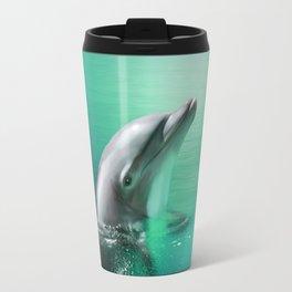 Dancing Dolphins Travel Mug