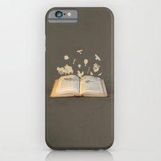 Words Take Flight (on Grey) iPhone 6s Slim Case