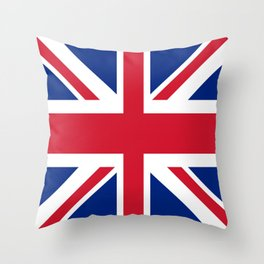 Flag of the United Kingdom Throw Pillow
