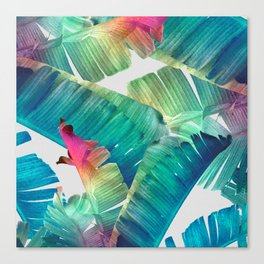 Banana Leaf Fantasy Canvas Print