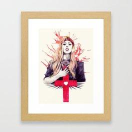 Judas Framed Art Print