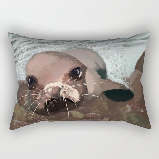 Tête-à-tête Rectangular Pillow