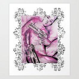 Caliber Love #3 Ornate Art Print