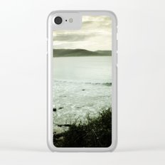 Moody Bay Clear iPhone Case