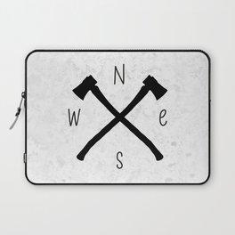 compass & axes Laptop Sleeve