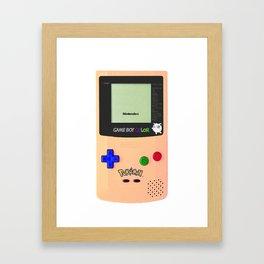 GAMEBOY JIGGLYPUFF EDITION Framed Art Print