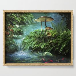 Enchanted Pond Serving Tray