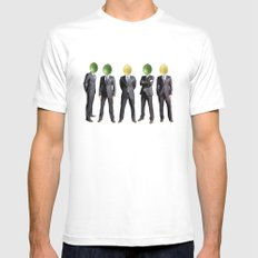 lemon and lime heads SMALL White Mens Fitted Tee